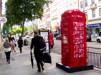 Outside the Box by Simeen Farhat #btartbox #childline #london #2012