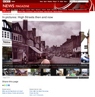Featured in BBC News Magazine: High Streets then and now