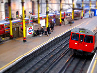 Farringdon Station in miniature - 2010