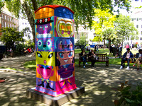 Londontotem by Rian Hughes #btartbox #childline #london #2012