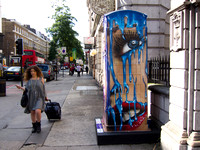 Leake St Hot Lips #btartbox #childline #london #2012